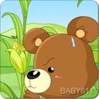 小熊掰棒子