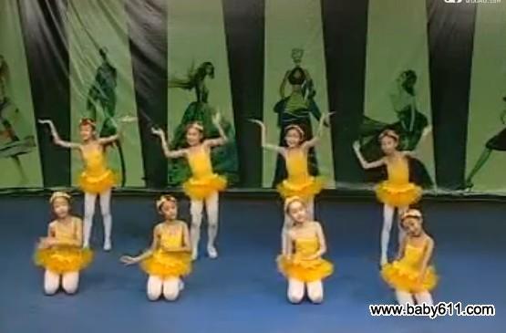 sxda童舞蹈《数鸭子》