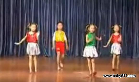 幼sxda舞蹈视频《快乐宝贝》