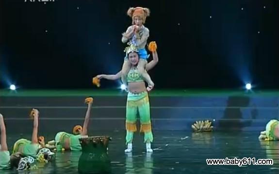 六一幼sxda舞蹈《猴子掰苞谷》