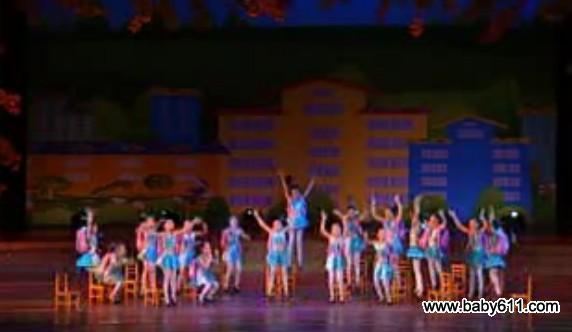 sxda童舞蹈《给书包减肥》