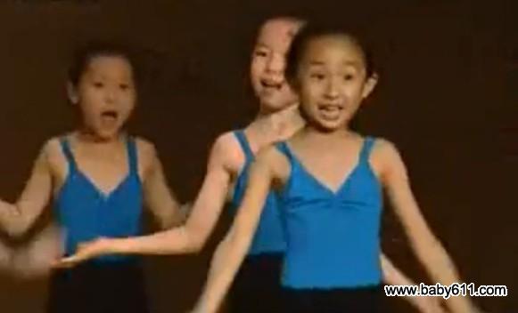 sxda童舞蹈《稍息立正站好》