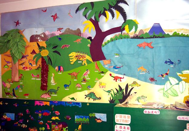 大量幼儿园环境布置照片 [4000张]