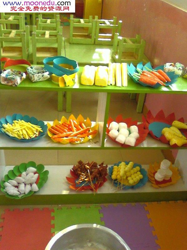 幼儿园角色游戏区布置图片