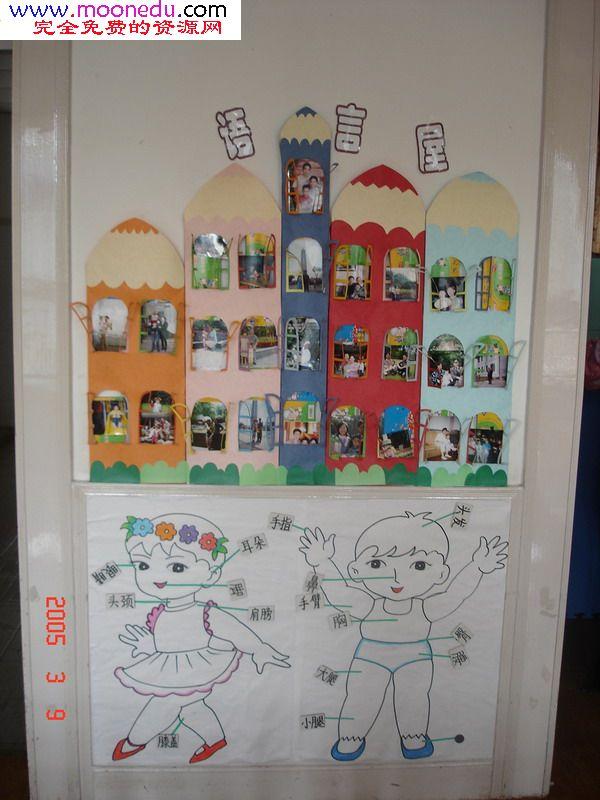 走廊布置,吊饰环境布置,幼儿园设计,装修-幼教中国; 大班墙面布置图片