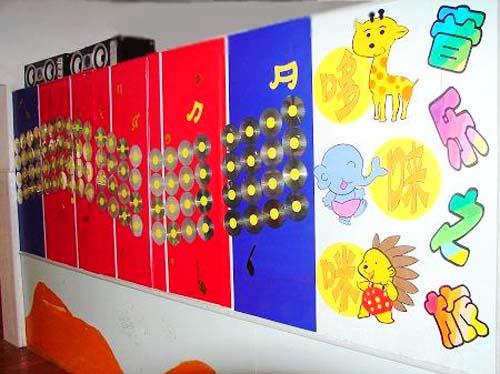 作品欣赏15《幼儿园教室墙面环境布置》;