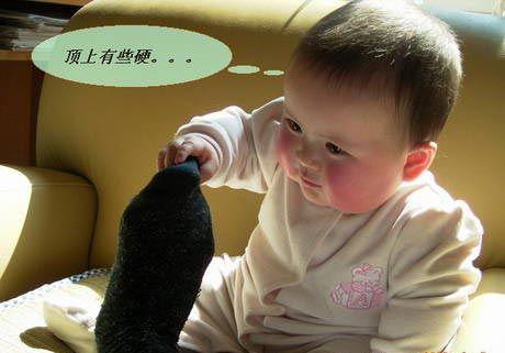 可爱宝宝pk搞怪爸爸(2)