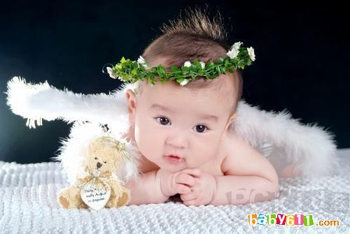 可爱男宝宝帅气发型图片下载