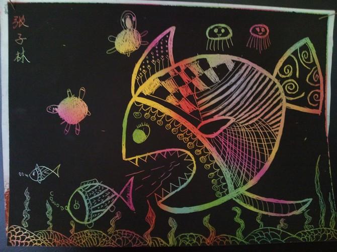 幼儿园大班教案 美术教案
