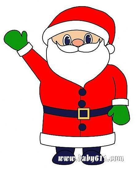简单几笔就勾勒出可爱的圣诞老人:         幼儿园简笔画教程:乌龟