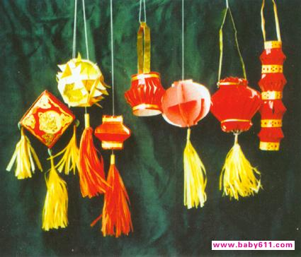 小学生手工制作灯笼,小学生手工灯笼制作方法
