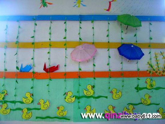 幼儿园主题墙边框