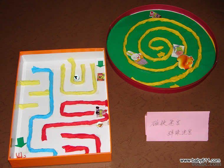 幼儿园手工废旧物饮料瓶制作:各种漂亮的玩教具(4)