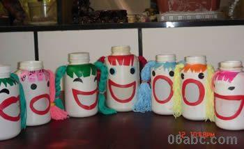 幼儿园废旧物品手工制作 废旧瓶子的创意