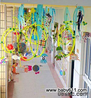 幼儿园走廊吊饰图片:挂饰大全