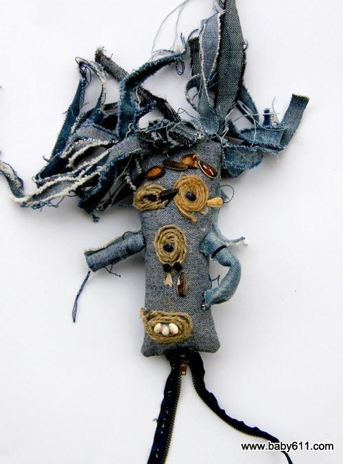 幼儿园大班布艺:《布偶》(3) - 幼儿园手工制作图片