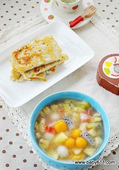 儿童早餐简单图片