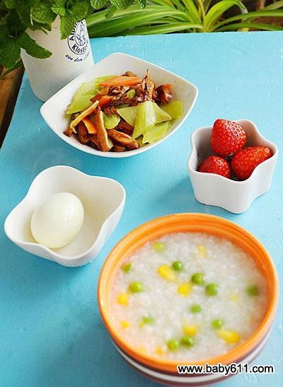 儿童早餐营养图片