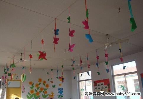 幼儿园迎新年环境布置图片