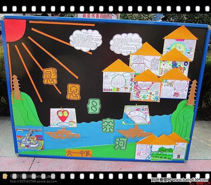 经典幼儿园画报环创图(5)