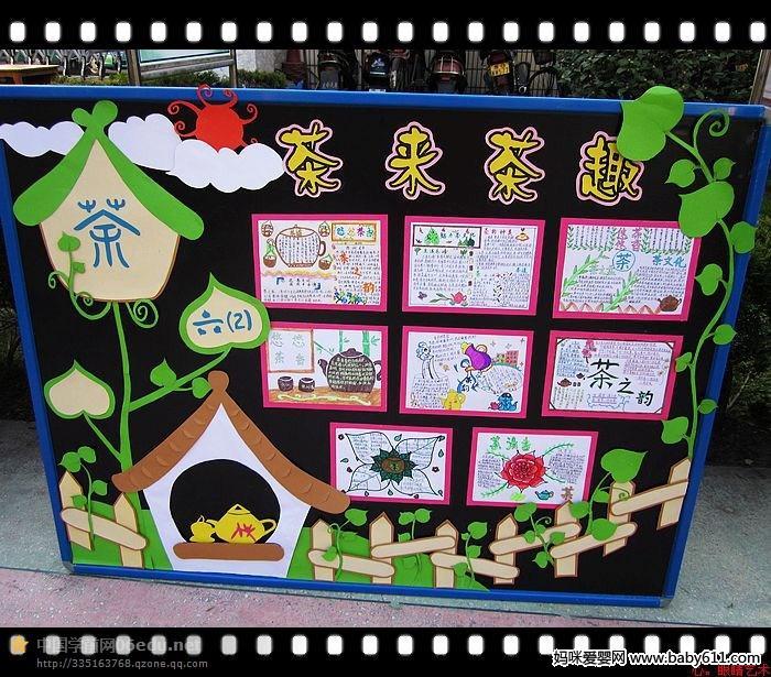 经典幼儿园画报环创图(6)
