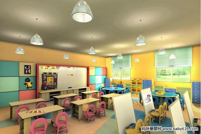 精美幼儿园环境布置图大全(7) - 教室布置