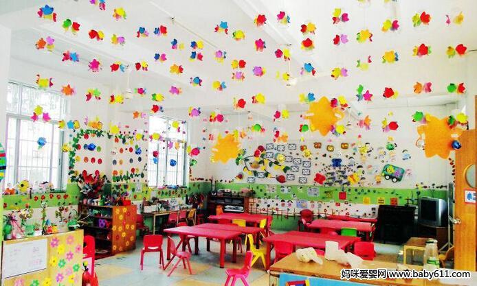 精美幼儿园环境布置图大全(6)