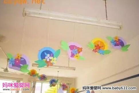 幼儿园镜子边框装饰图片展示