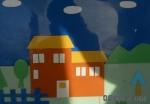 亚博yabovip1.cpm手工折纸贴画:美丽的房子