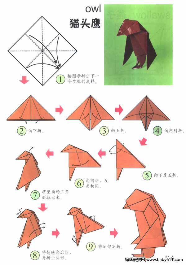 包青天老虎机如何消分:幼儿园大班折纸活动:可爱的