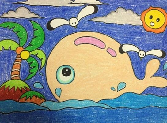 绘画作品 - 幼儿园幼儿美术绘画作品-简单美术绘画作品图片大全