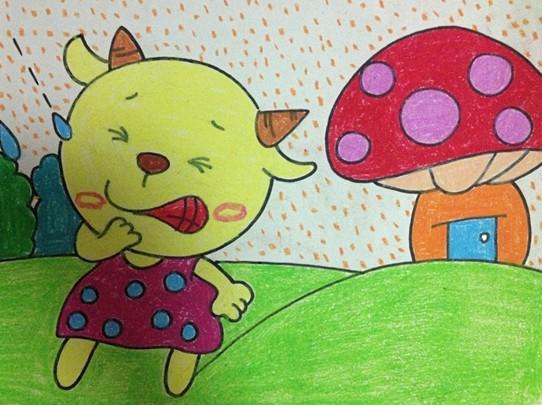 绘画作品 - 幼儿园幼儿美术绘画作品-美术班绘画作品