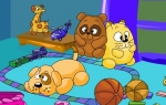 幼sxda园小班社会动画课件:玩具找家