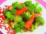 冬季食谱:麻酱西兰花