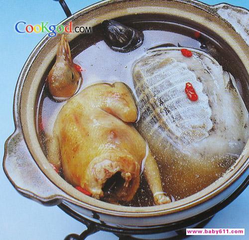 乳鸽云吞黄鱼枸杞的做法凉菜家常大全图片