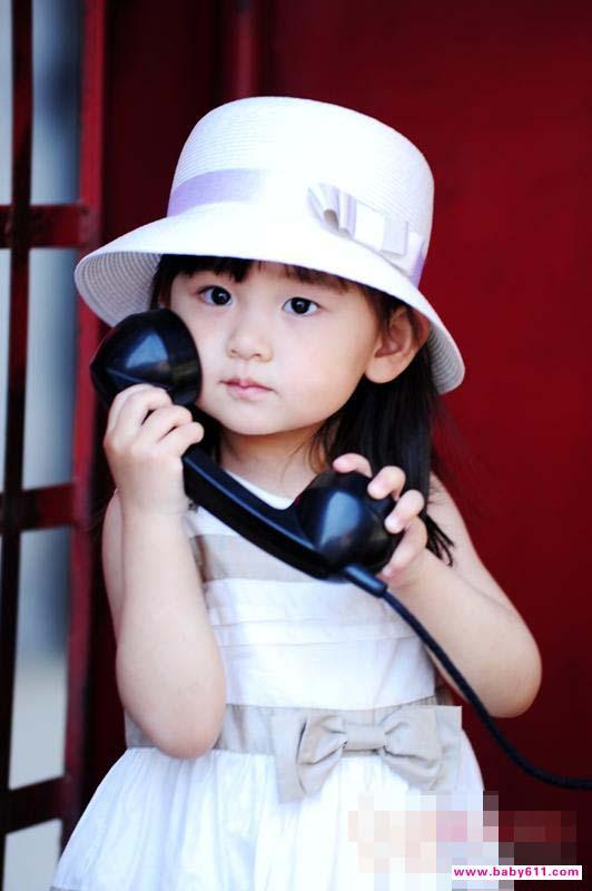 时尚小美女街拍 宝宝秀