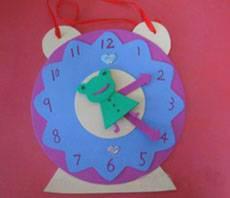幼儿园大班教学教案:认识时钟 - 数学教案图片