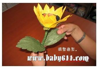 手工向日葵制作方法