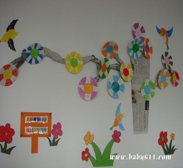 幼儿园环境布置:墙饰4