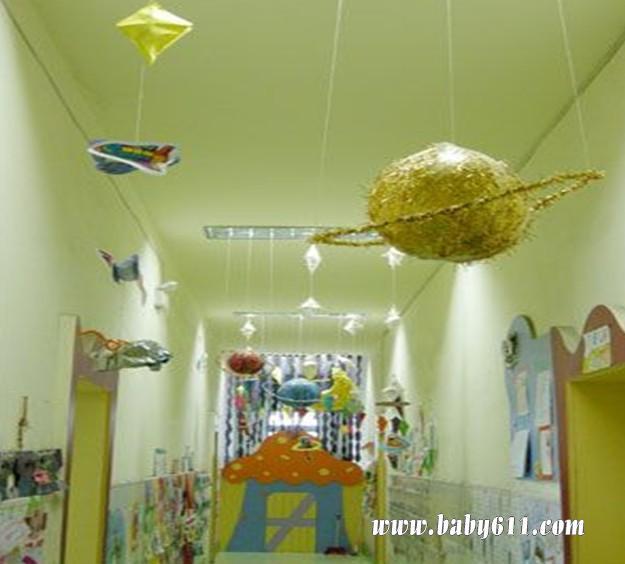 幼儿园环境布置:走廊装饰1