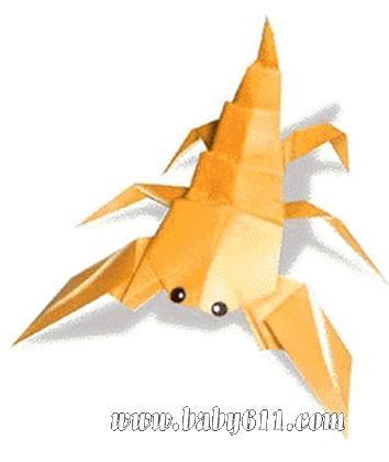 儿童手工折纸:蝎子 [教学设计]