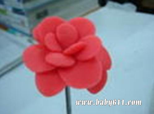 儿童手工橡皮泥 玫瑰花图片
