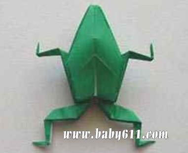 幼儿园手工折纸:猪头 幼儿折纸:知了