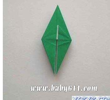 儿童手工折纸:青蛙立体折纸(10)