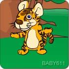 吃奶长大的老虎