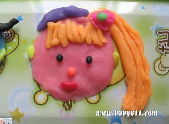 机器猫 幼儿园幼儿手工橡皮泥:草莓 幼儿创意橡皮泥作品:西瓜 幼儿
