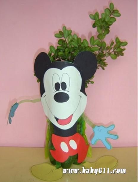 废旧卡纸v女士--米奇女士花瓶连帽卫衣图纸老鼠图片