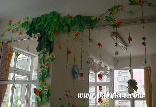 幼儿园墙饰吊饰图片