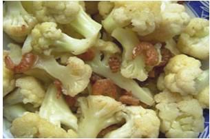 虾皮烧菜花