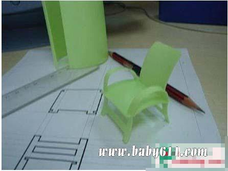 塑料瓶矿泉水瓶手工做小凳子(7)图片